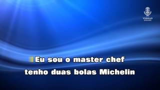 ♫ Karaoke O PAU CAIU NA PANELA - Quim Barreiros