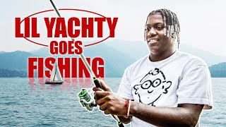 Lil Yachty Goes Fishing