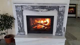 yeni sistem şömine ısı testi. tel-05467674181
