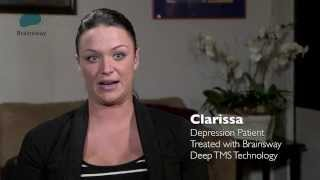 Female Depression Patient Treated by Brainsway Deep TMS Technology