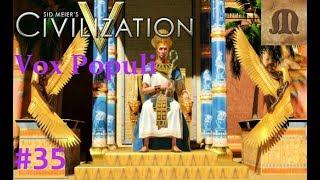 Let's Play Civilization 5 Vox Populi - Egypt p.35 (deity, epic)