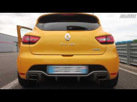 test catback inoxcar renault clio 4 rs edc silencieux. Black Bedroom Furniture Sets. Home Design Ideas