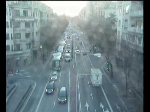 Terremoto de Pamplona en la Plaza de las Merindades