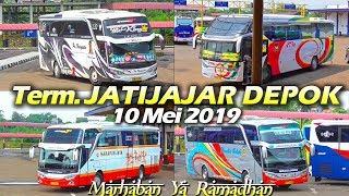 Edisi Ramadhan 2019 :  Hunting Bis di Terminal Jatijajar Depok, 10 Mei 2019