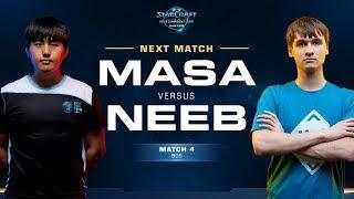 MaSa vs Neeb TvP - Match 4 Finals - WCS Winter Americas