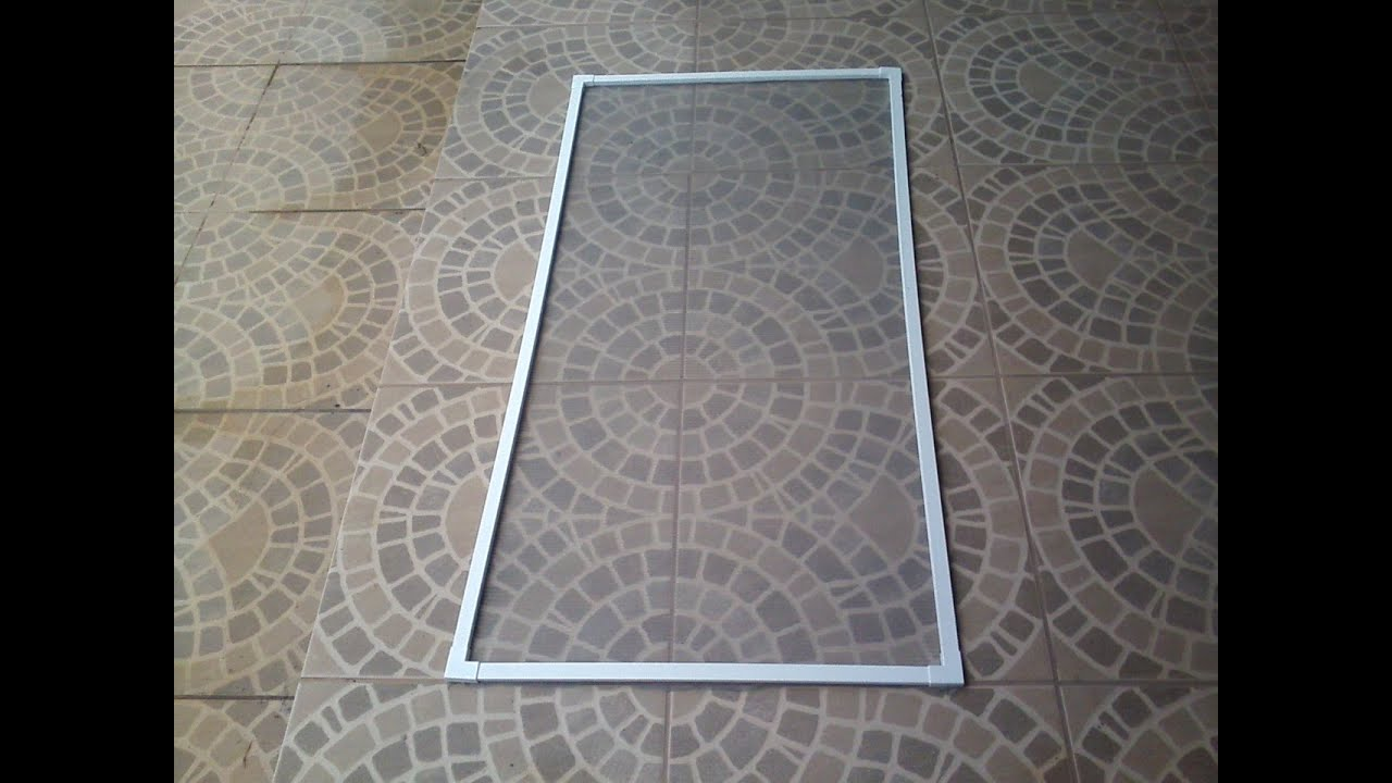 Tela mosquiteira de calha elétrica PVC   #4E687D 1280x960