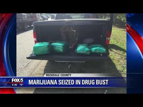 Two arrested in Rockdale County drug bust