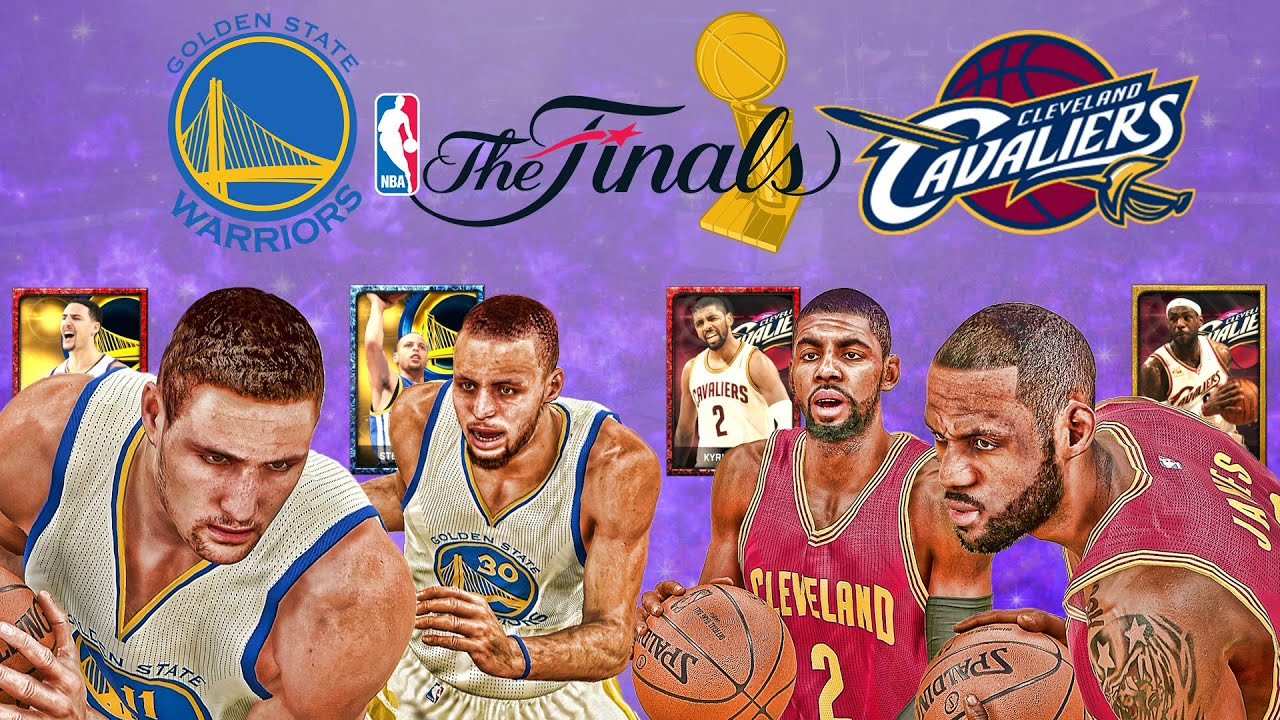 2015 NBA Finals Preview: Cleveland Cavaliers vs Golden State Warriors Team - NBA 2K15 MyTeam ...