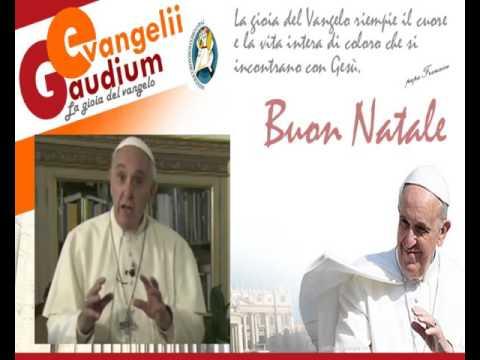 Auguri Di Natale Papa Francesco.Auguri Di Buon Natale Di Papa Francesco Youtube