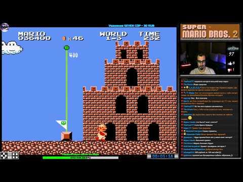 Super Mario Bros 2 прохождение (J) | Игра на (FDS, Dendy, Nes, Famicom, 8 Bit) 1986 Стрим RUS
