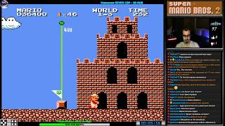 Обложка Super Mario Bros 2 прохождение J Игра на FDS Dendy Nes Famicom 8 Bit 1986 Стрим RUS