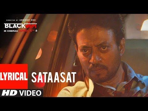 Sataasat Lyrical Video Song | Blackmail | Irrfan Khan | Amit Trivedi | Amitabh Bhattacharya