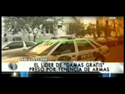 Pablo Lescano - PRESO - DAMAS GRATIS