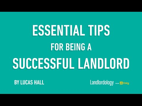 Webinar: Essential Tips for Being a Successful Landlord, (Nov 2, 2014) by Lucas Hall, Cozy