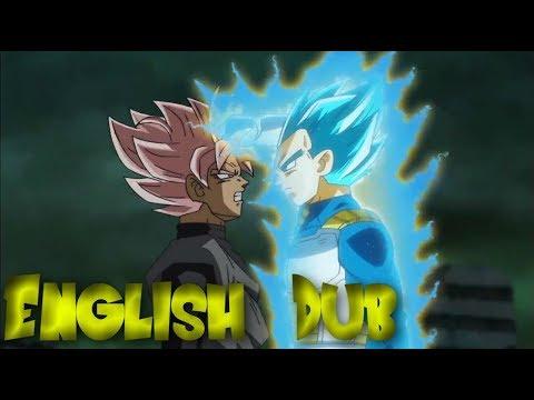 Vegeta VS Goku Black (Rematch) | English DUB | Dragon Ball Super Episode 63