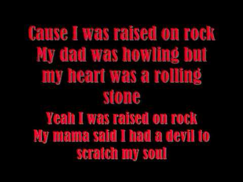 Scorpions- Raised on rock  (lyrics)