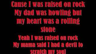 Scorpions- Raised On Rock  Lyrics