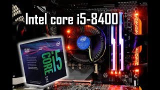 Intel Core i5-8400, Coffee Lake CPU + Z370 AORUS,  benchmarks + comparison with Ryzen