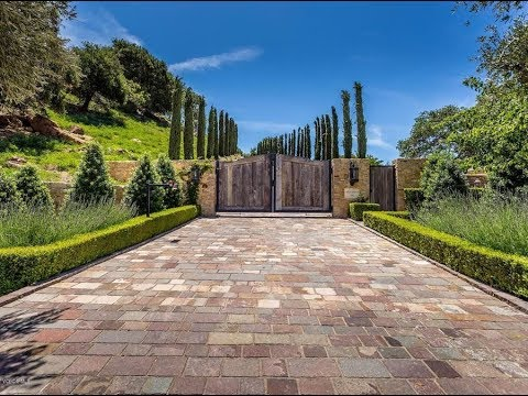 Luxurious $35 Million 24,000 SQ FT 6 Bed 10 Bath Tuscan Villa on 4 Acres in California USA