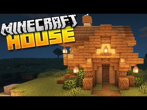 How To Build A Starter House In Minecraft! (1.15 Tutorial)