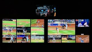 How Baseball on TV is Mixed in Real-Time (iPhone 6S 4K Video Test)