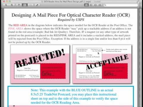 How To Mail A Postcard Direct Mail Design Tips For