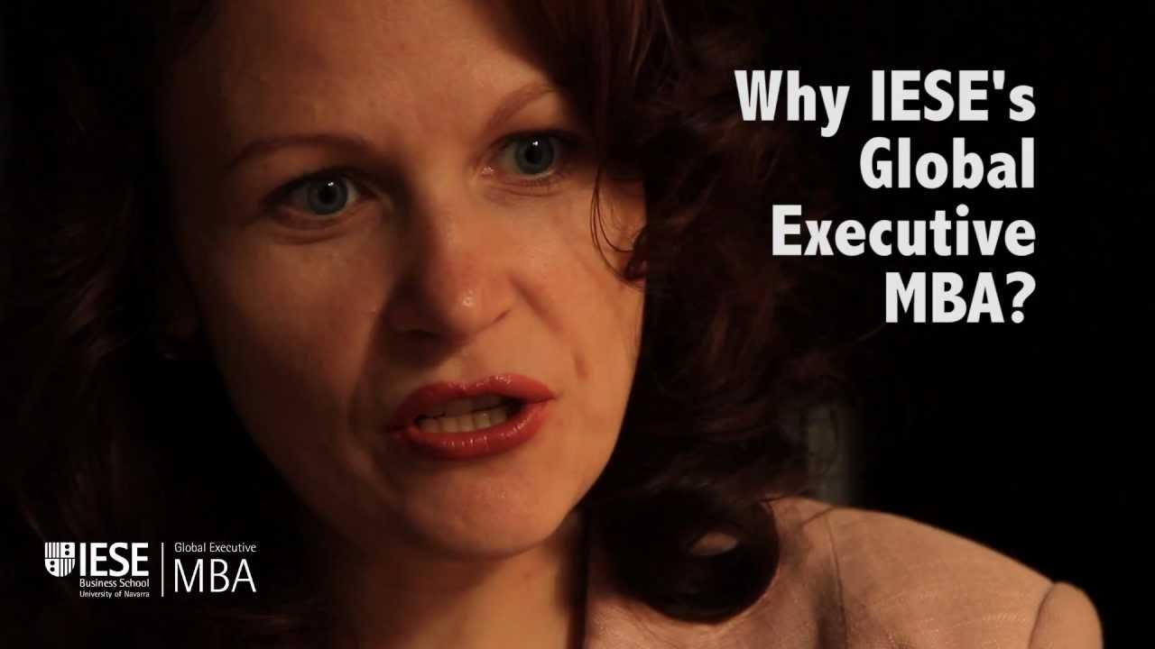 Why Iese S Global Executive Mba Youtube
