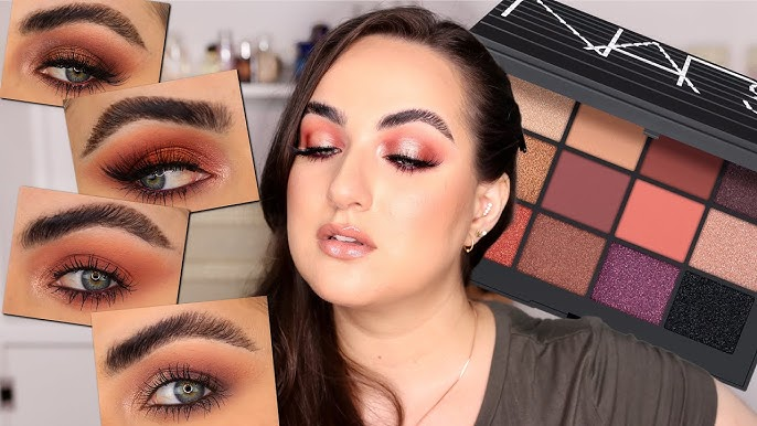 NARS Voyageur Palettes | Swatches of all 4 Palettes + Tutorial - YouTube