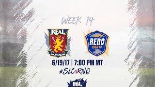 USL LIVE - Real Monarchs SLC vs Reno 1868 FC 6/19/17 thumbnail