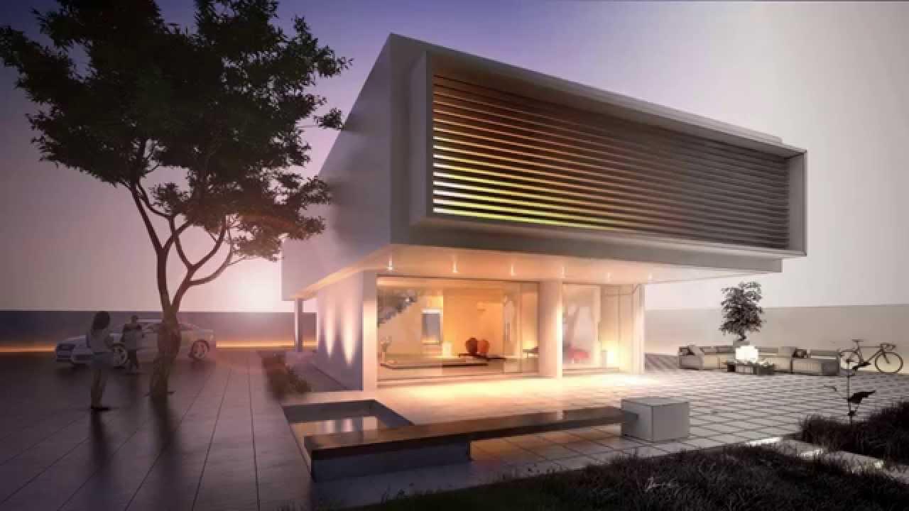 1 5 a i arquitectura e infograf a 3d c diz youtube for Render casa minimalista