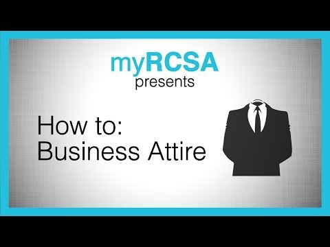 How-To: Business Attire