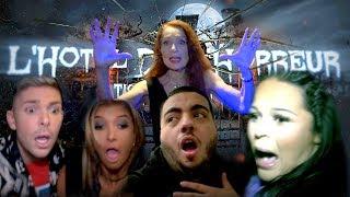 L'HÔTEL DE L'HORREUR: Sarah Fraisou, Jaja, Mélanie Dédigama et Sam Zirah terrorisés par Tanya !