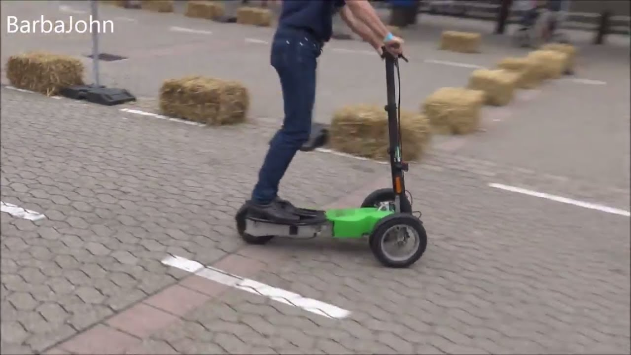 the scuddy 2018 electric scooter in germany youtube. Black Bedroom Furniture Sets. Home Design Ideas