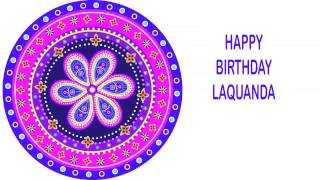 LaQuanda   Indian Designs - Happy Birthday