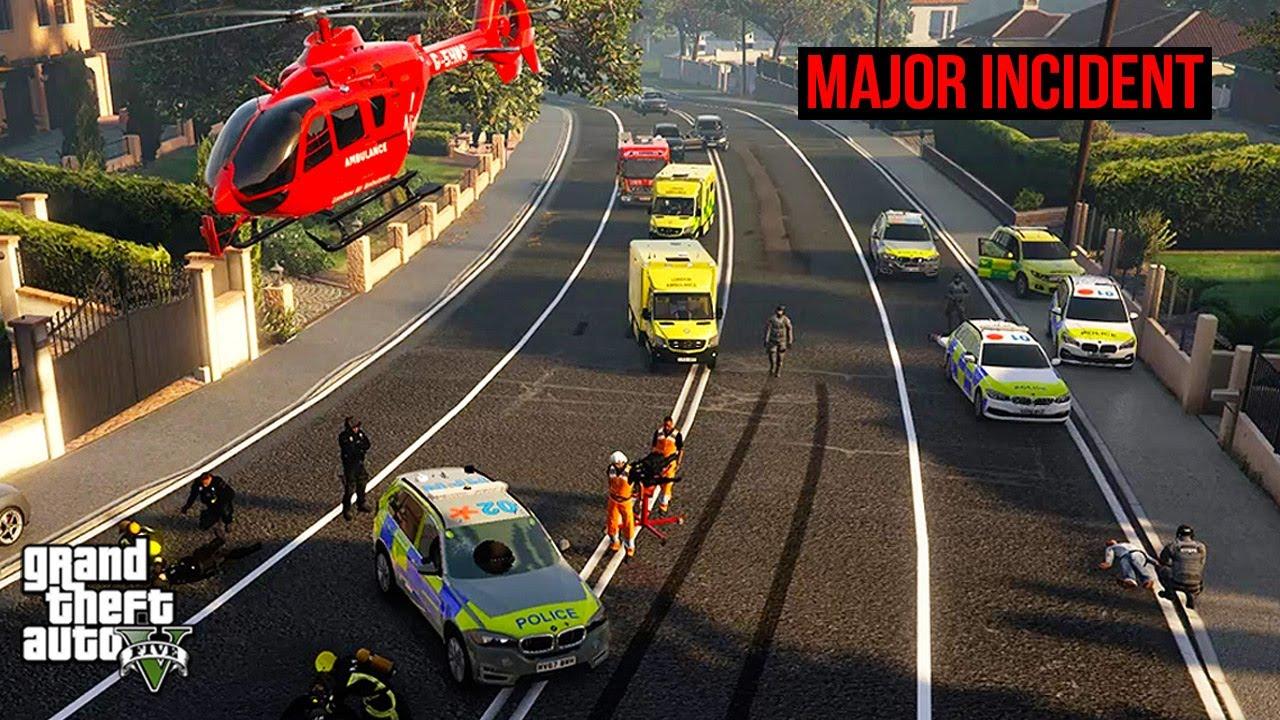 UK Police Major Incident (GTA 5 LSPDFR Mod #307)