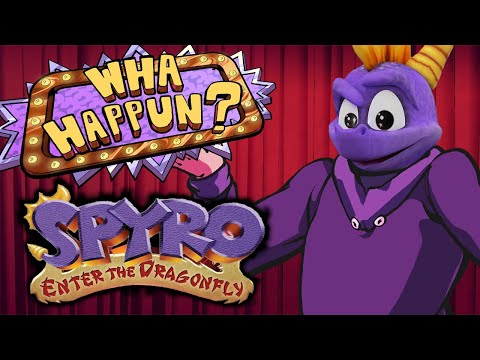 Spyro: Enter The Dragonfly - What Happened? ft. Caddicarus