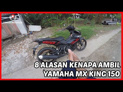 8 Alasan Kenapa Memilih Yamaha MX King 150