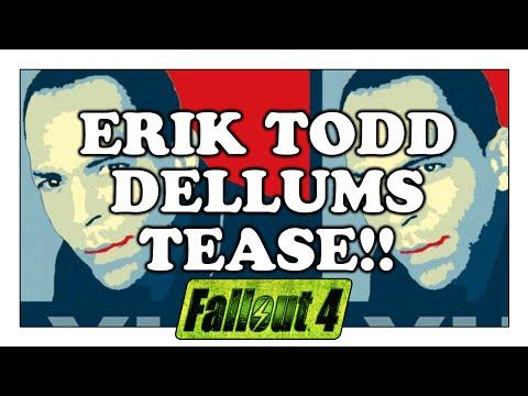 FALLOUT 4 Erik Todd Dellums Tease!