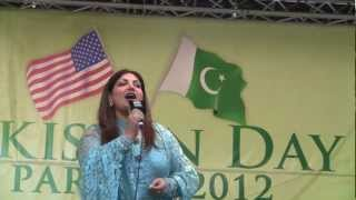 Live Pakistani Music in Pakistan Day Parade New York 2012