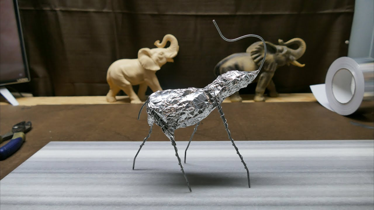 Wire Armature for Clay Sculptures