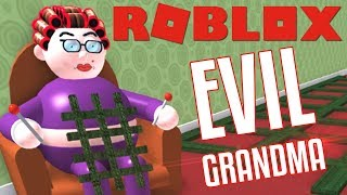 ROBLOX ESCAPE THE EVIL GRANDMA OBBY !!