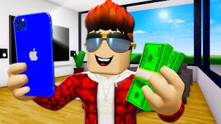 Young, Rich, TikTok Famous : Roblox Brookhaven 영화 (Brookhaven RP)
