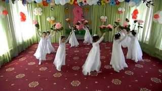 Весенний вальс с цветами(муз.рук: Сиротина Ирина. Детский сад №340. г.Ташкент Идея танца принадлежит Анне Садовой.Вальс