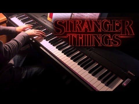 Stranger Things Main Theme (Piano w/Sheets)