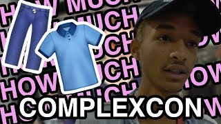 How Much is Your Outfit? - COMPLEXCON ft. Jaden Smith