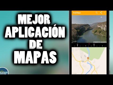 MEJOR APP DE MAPAS / GOOGLE MAPS Y GOOGLE EARTH EN UNA MISMA APLICACIÓN / APP DE UTILIDAD
