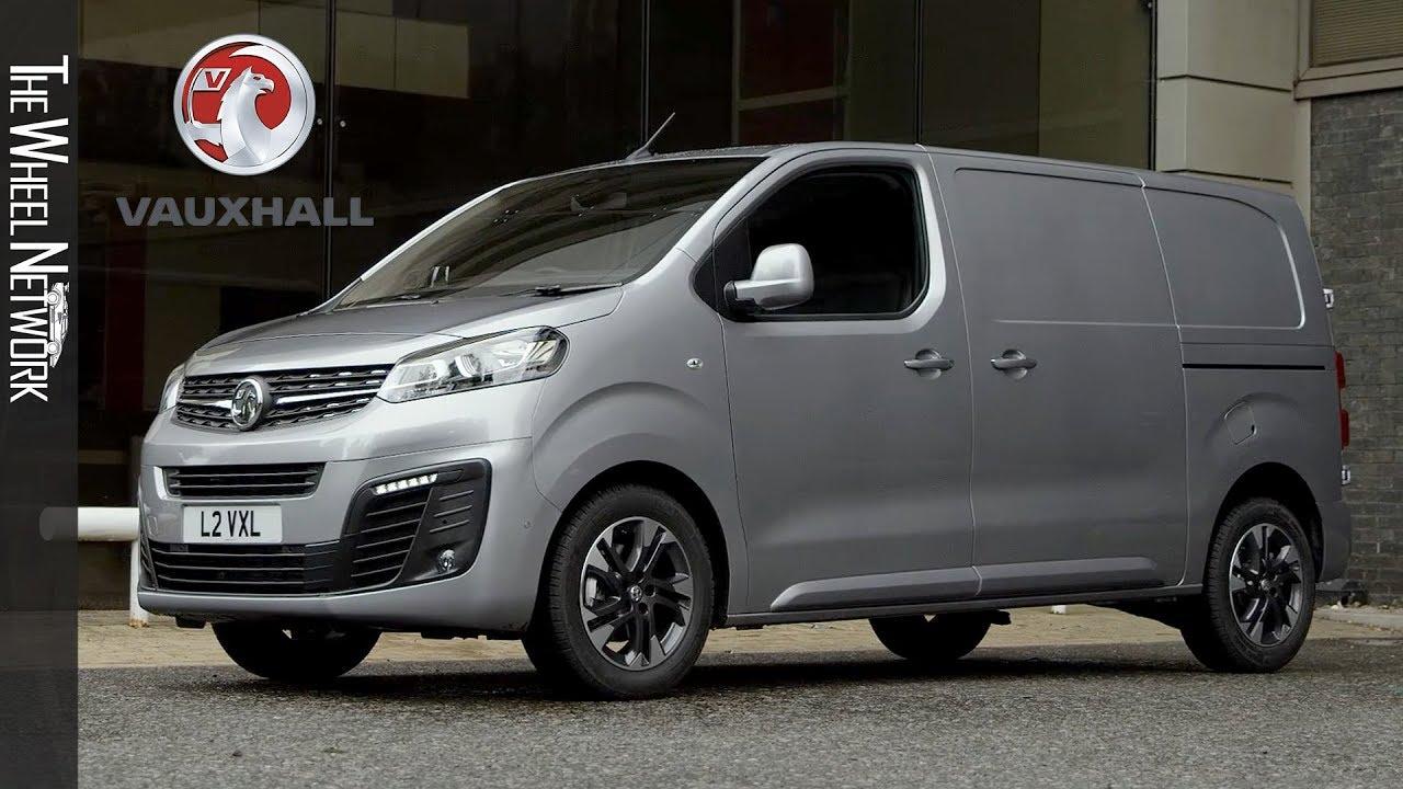 2019 Vauxhall Vivaro Panel Van Quartz Grey Exterior Interior