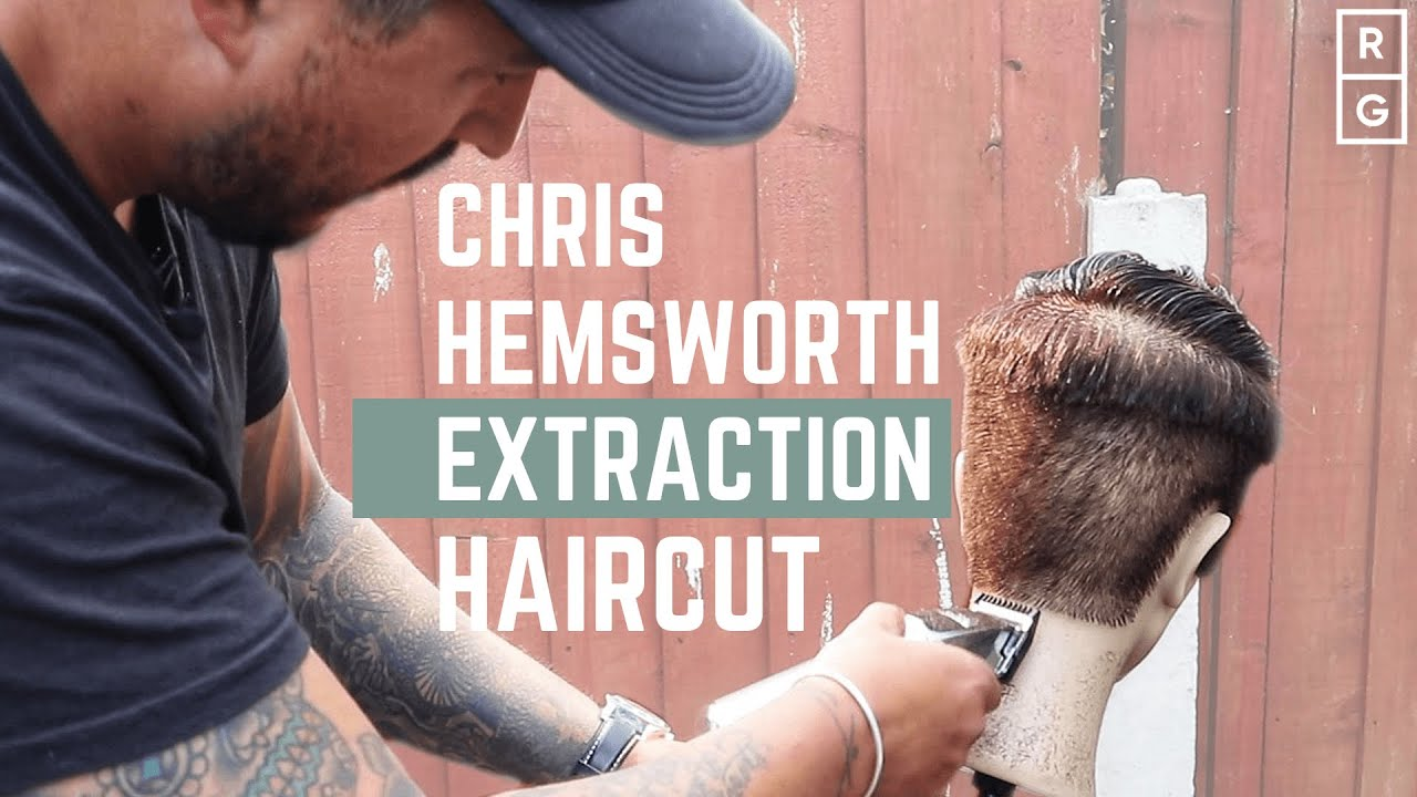 Chris Hemsworth Extraction Haircut Chris Hemsworth Inspired Hairstyle Youtube