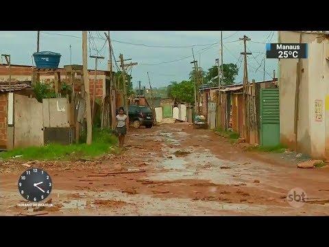 Número de brasileiros abaixo da linha da pobreza deve aumentar | SBT Notícias (28/11/17)