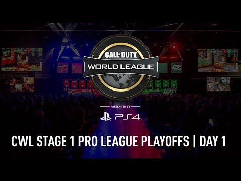 CWL Pro League Stage 1 Playoffs 2018 | Day 1